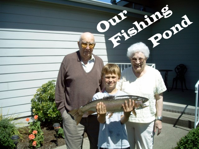 Photo Gallery Our fishing pond