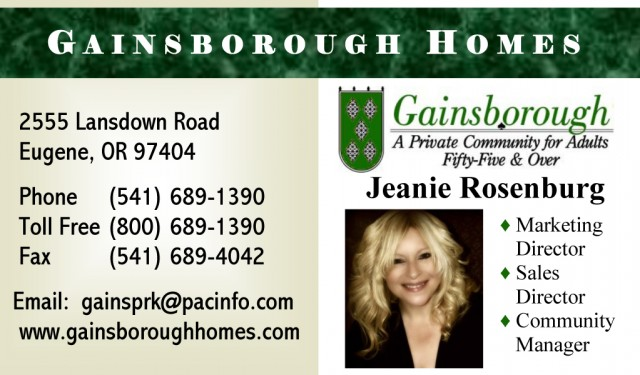Jeanie Rosenburg Business Card