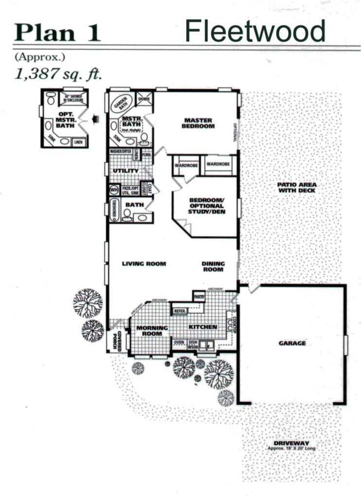 2561 Northampton floor plan